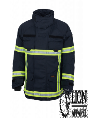 Lion Apparel V-FORCE Überjacke blau Baugruppe F