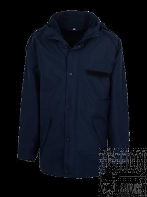 Wetterschutzjacke 2-in-1, blaue Biese